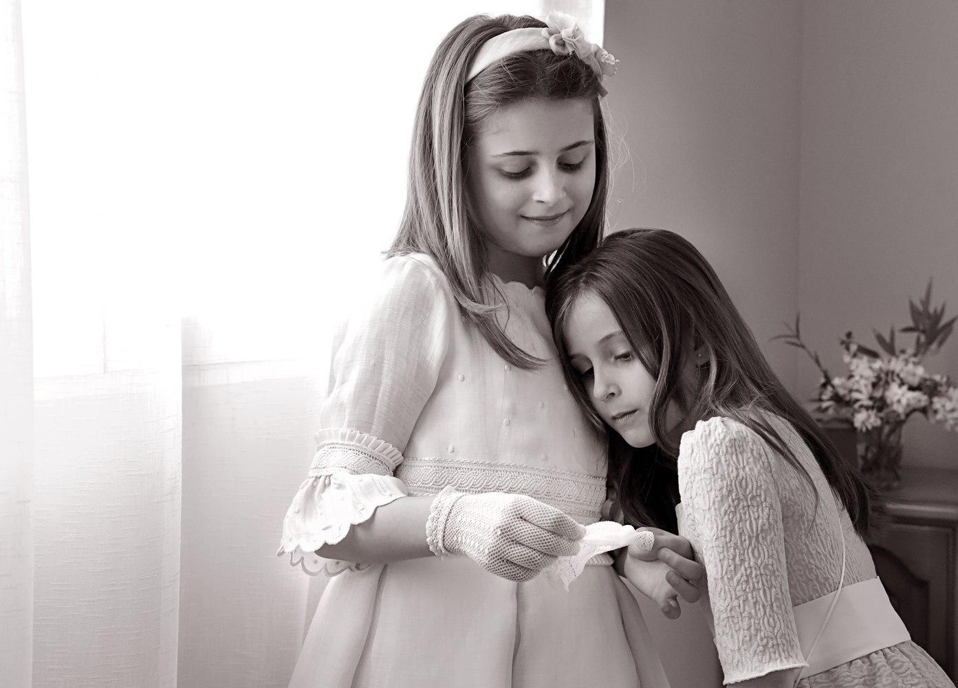 2 niñas comuniones
