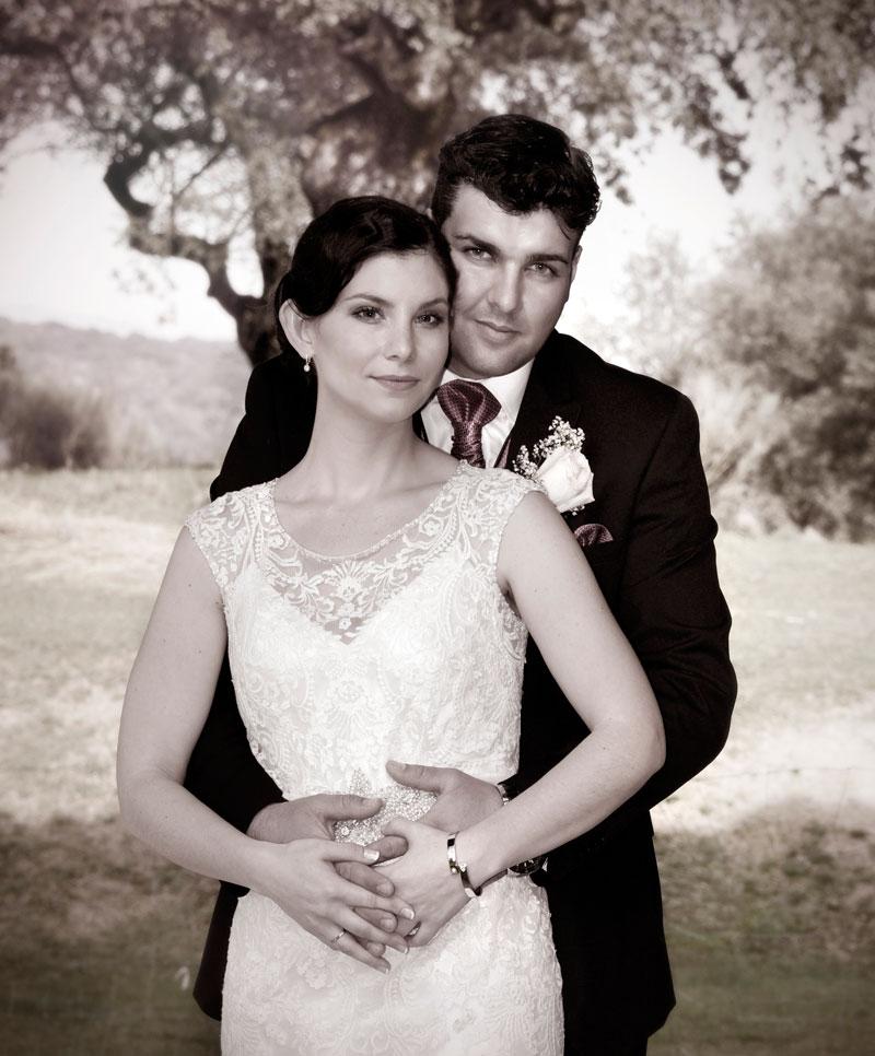 novia y novio fotos 2